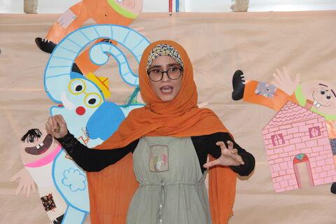 آیین اختتامیه هفته ملی کودک در مرکز شماره ۲ کانون مهاباد