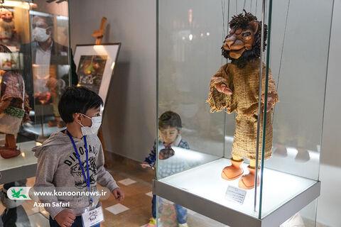 بازدید بچهها از موزه کودک کانون در هفته ملی کودک