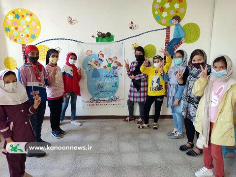 حال خوش کودکی و رنگ خوش زندگی در مراکز کانون استان اردبیل(بخش دوم)