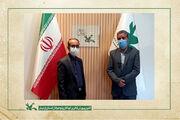 دیدار و گفتگوی مدیرکل کانون استان اردبیل با مدیرعامل