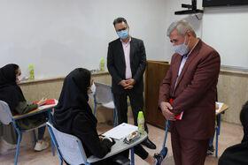 رییس کانون زبان ایران در بازید از آزمون جذب مدرس در مازندران