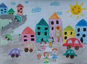 درخشش عضو کانون سیستان و بلوچستان در مسابقهی نقاشی «جوانههای مهر، دانش و ترافیک»