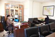 دیدار چهره به چهره سرپرست اداره کل کانون استان تهران با مردم