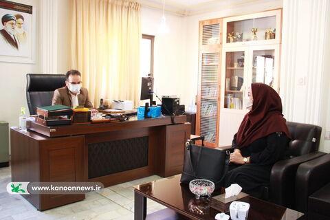 ملاقات مردمی سید علی حسینی، سرپرست اداره کل کانون استان تهران برای دومین هفتهی متوالی