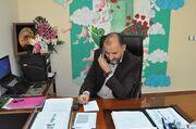 گفتگوی تلفنی مدیر کل کانون زنجان با خانواده شهید علی لندی