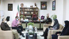 دیدار مدیرکل کانون پرورش فکری گلستان با فرماندار شهرستان کردکوی