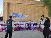 سفر کتابخانههای سیار شهری  اهواز به روستای بنادر شهرستان شوش