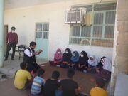 سفر کتابخانه سیار کانون خوزستان به روستاهای شهرستان هفتکل