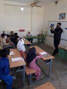 سفر کتابخانه سیار روستایی کانون خوزستان به روستاهای شهرستان هفتکل