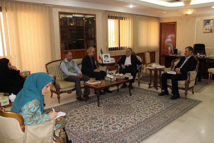دیدار مربیان کانون با سفیر جمهوری اسلامی ایران در قطر